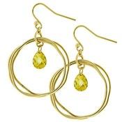 Celine-s-citrene-cz-drop-double-gold-hoop-earrings-512-1
